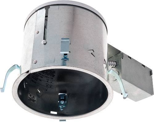 RECESSED LIGHTING REMODEL NON-IC LINE VOLTAGE HOUSING 6 IN.