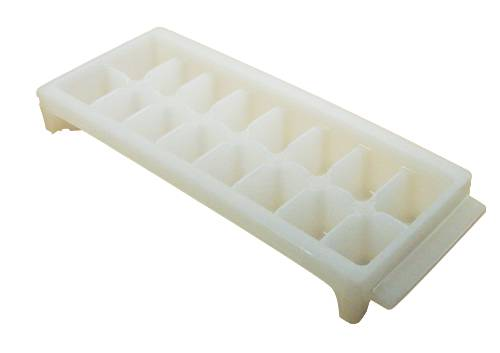 DELUX WHITE ICE CUBE TRAY