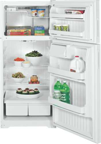 GE/HP ENERGY STAR 16.5 CU. FT. RIGHT HAND TOP-FREEZER REFRIGERAT