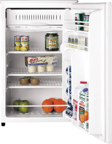 GE 4.3 CU. FT. SPACEMAKER REFRIGERATOR WHITE