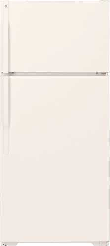 GE 15.7 CU. FT. TOP FREEZER REFRIGERATOR BISQUE