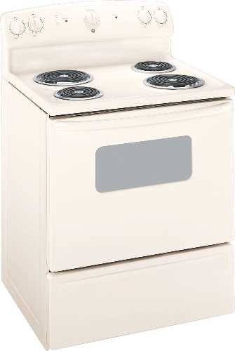 GE FREE STANDING ELECTRIC RANGE 30 IN. BISQUE