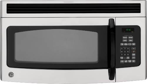 GE MICROWAVE OVEN OVER-THE RANGE STAINLESS STEEL