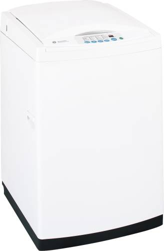 GE SPACEMAKER EXTRA-LARGE CAPACITY WASHER, STAINLESS STEEL BASE