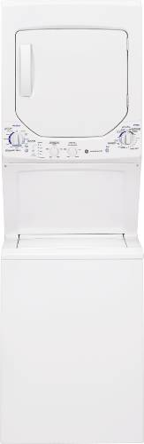 GE UNITIZED SPACEMAKER® 2.2 DOE CU. FT. WASHER AND 4.4 CU. FT. E