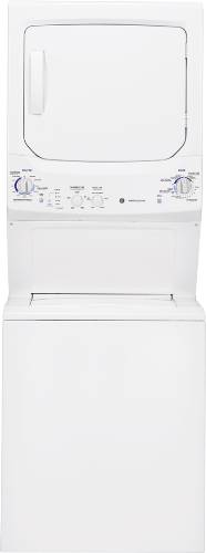 GE UNITIZED SPACEMAKER 27 IN. FULL SIZE WASHER AND ELECTRIC DRYE