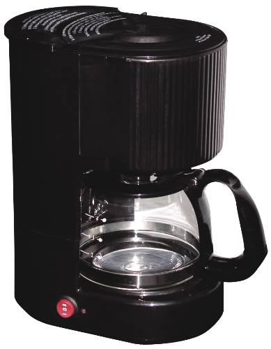 COFFEE MAKER 4 CUP BLACK