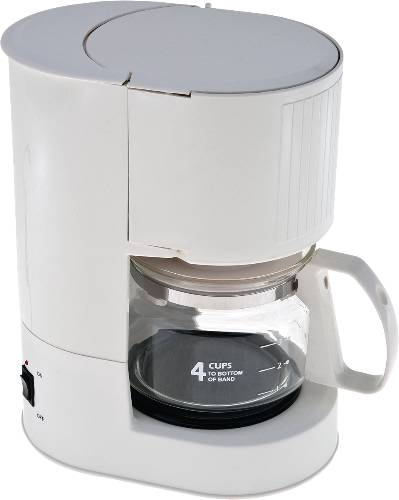 COFFEE MAKER 4 CUP ASH