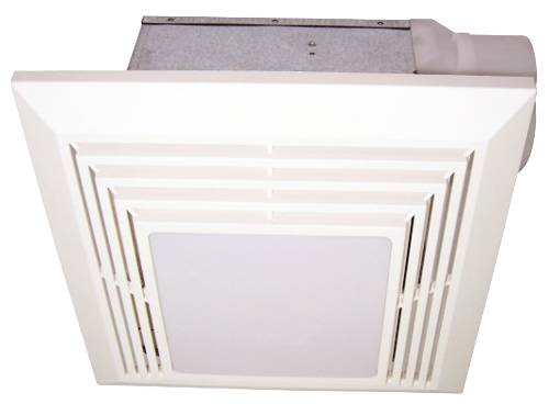 BATH FAN WITH LIGHT 110 CFM 4 IN DUCT