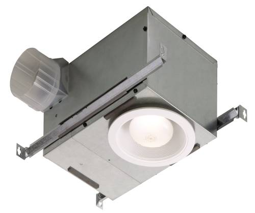 BROAN RECESSED FAN AND LIGHT 1/5 SONES 70 CFM