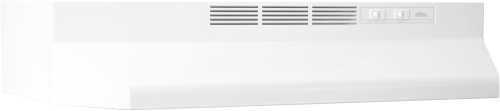 BROAN 41000 SERIES DUCTLESS RANGE HOOD 36 IN. WHITE