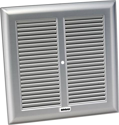 Broan Exhaust Fan Grille Metal 10 1 4 In Square