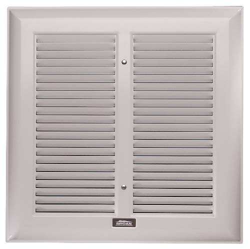 NUTONE EXHAUST FAN GRILLE 8-9/16 IN. X 10-7/16 IN. METAL