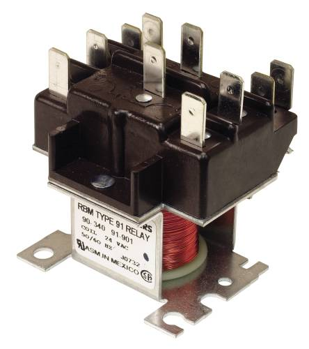 RELAY SWITCH 2 POLE 24 VOLTS