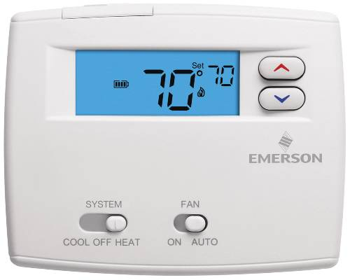 PROGRAMMABLE DIGITAL THERMOSTAT 1F86 0244