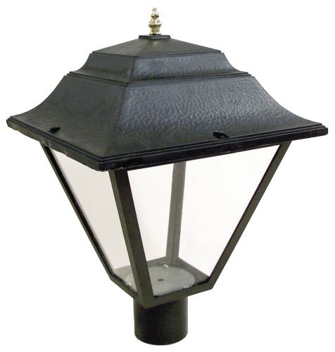 HIGH PRESSURE SODIUM POST LANTERN 70W FIXTURE 70 WATT