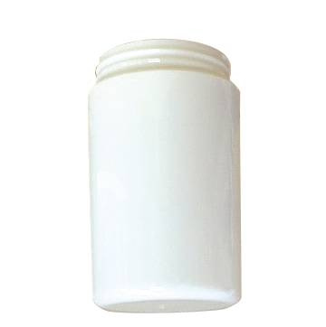 POLYCARBONATE CYLINDER 6-1/4 IN. WHITE