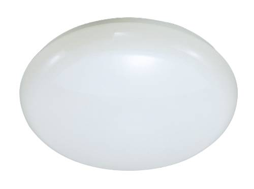 CEILING FIXTURE WITH FLOAT STYLE LENS, USES ONE 22 WATT CIRCLINE