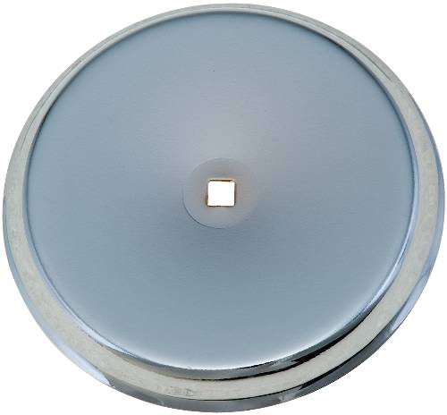 CABINET KNOB BACKPLATE CHROME