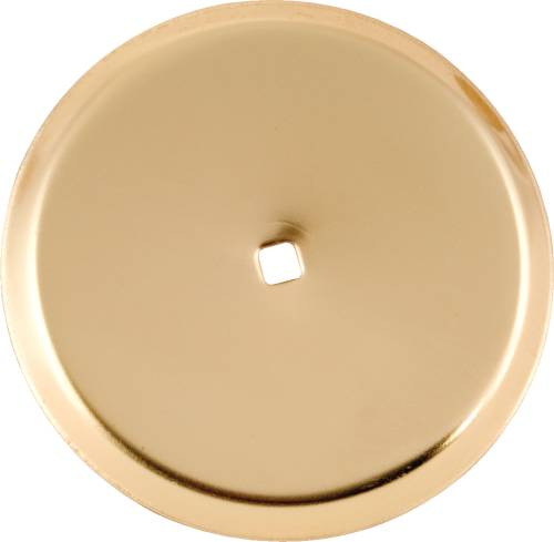 BACKPLATE ONLY POLISHED BRASS 2-3/4 IN. DIAMETER
