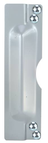 OUTSWING DOOR LATCH 11 IN. SILVER