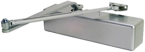ADA BARRIER FREE DOOR CLOSER ALUM FINISH SIZE 1-4 WITH BACKCHECK