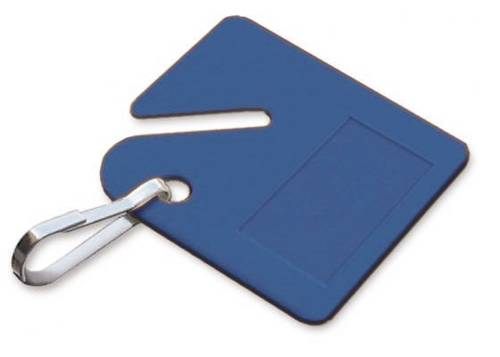 LUCKY LINE KEY CABINET TAG BLUE
