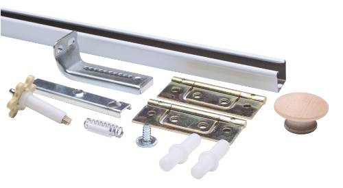 BI FOLD DOOR HARDWARE SET 3 FT