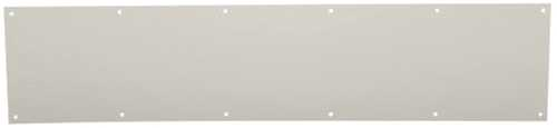 ALUMINUM DOOR KICK PLATE 6 IN. X 34 IN.