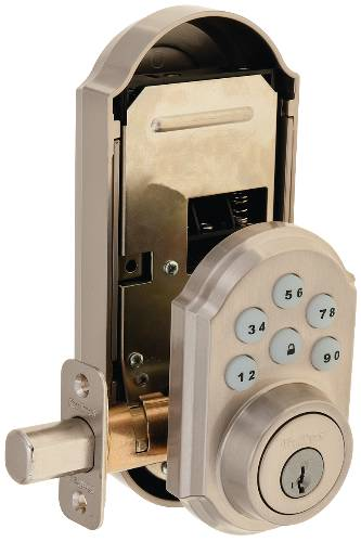 KWIKSET SMART CODE SATIN NICKEL