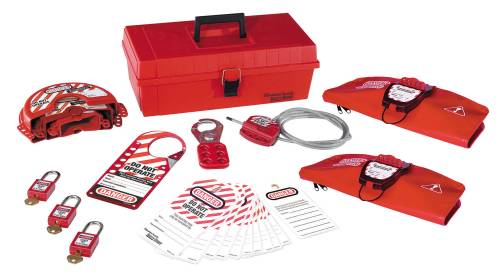 MASTER LOCK PERSONAL LOCKOUT KIT, VALVE