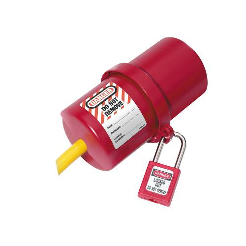 ELECTRICAL PLUG LOCKOUT 220 TO 550 VOLTS