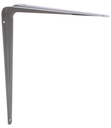 ANVIL MARK SHELF BRACKETS 12 IN. X 14 IN. STEEL GRAY ENAMEL