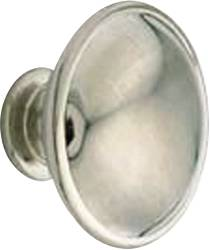 CABINET KNOB 1-1/4 IN. SATIN NICKEL