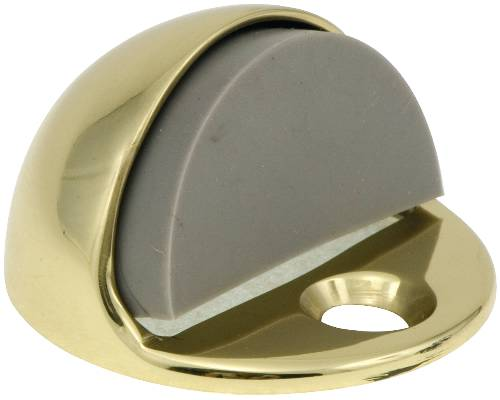 ANVIL MARK DOME 5/32 IN. DOOR BUMPER POLISHED BRASS