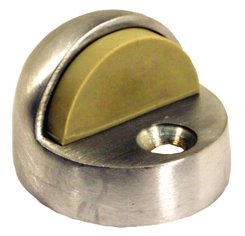 ANVIL MARK DOME 1/2 IN. DOOR BUMPER POLISHED BRASS
