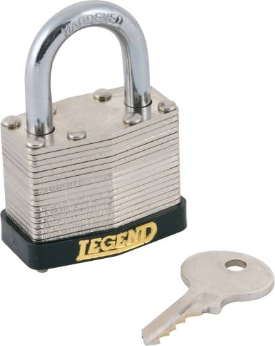 LEGEND PADLOCK, KEYED ALIKE, 1-1/2 IN.