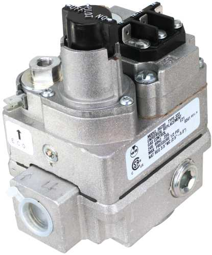 WHITE RODGERS GAS CONTROL VALVE SIDE OUTLET 24V