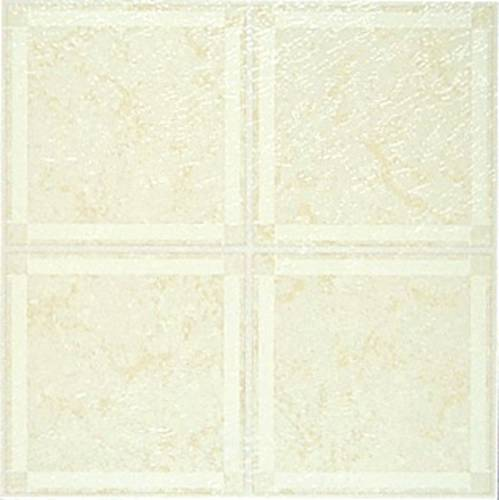 FLOOR TILE NO WAX SELF STICK 12 IN. X 12 IN. BEIGE