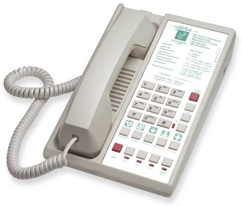 TWO LINE SPEAKERPHONE WITH 10 MEMORY KEYS