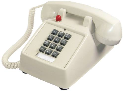 DESK TELEPHONE BEIGE