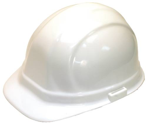HARD HAT WITH 6 PT SUSPENSION