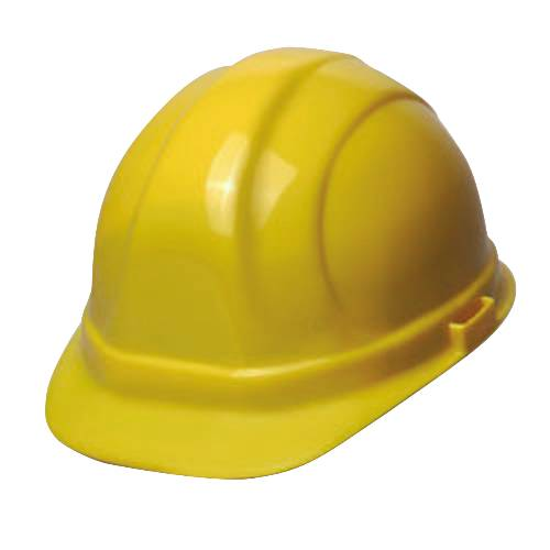 HARD HAT 6 PT SUSPENSION YELLOW