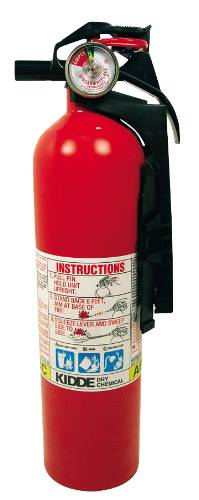 KIDDE FULL HOME MULTIPURPOSE 1A:10BC DISPOSABLE FIRE EXTINGUISHE