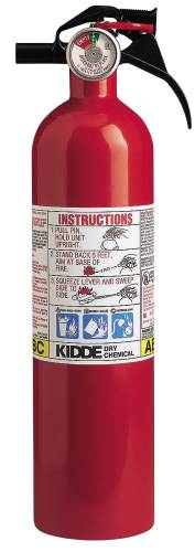 FIRE EXTINGUISHER FULL HOME 5 LB MULTI-PURPOSE 3A:40BC DISPOSABL