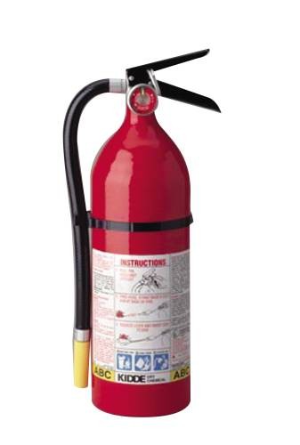 FIRE EXTINGUISHER PRO 5 LB MULTI-PURPOSE 3A:40BC RECHARGEABLE