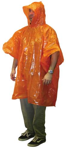 PONCHO CLEAR 50 IN X 80 IN