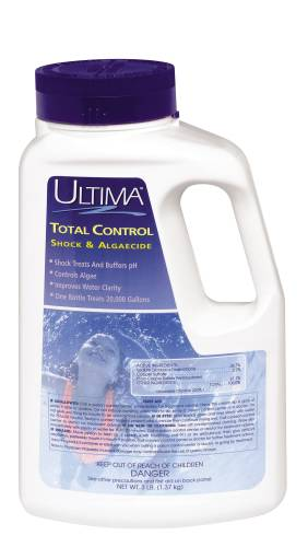 ULTIMA TOTAL CONTROL COMBINATION POOL SHOCK AND ALGAECIDE