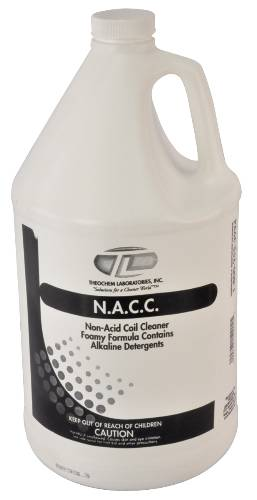 COIL CLEANER FOAMING NON ACID GALLON