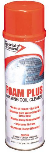 FOAMING AEROSOL COIL CLEANER 19 OZ